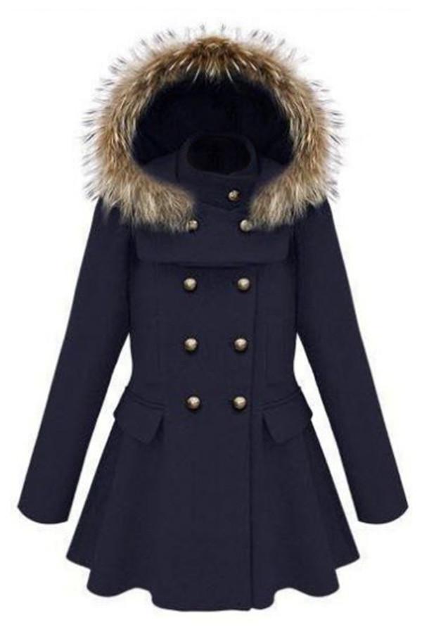 jacket blue jacket navy dress winter jacket cute pretty jacket navy blue