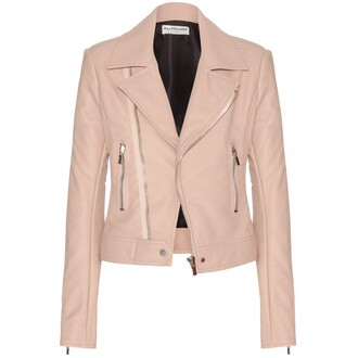 jacket outerwear pearl pink