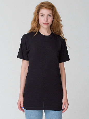 American Apparel - Unisex Fine Jersey Short Sleeve Tall Tee