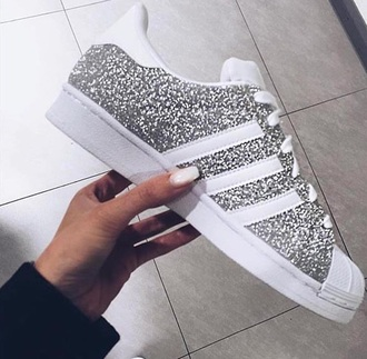 shoes adidassuperstarglitter adidas glitter adidas superstars glitter shoes