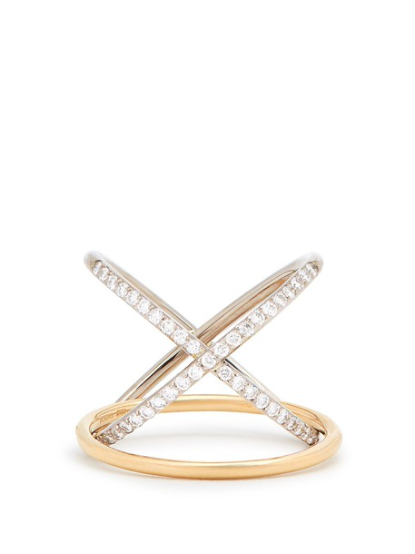 CHARLOTTE CHESNAIS FINE JEWELLERY ring gold ring gold jewels