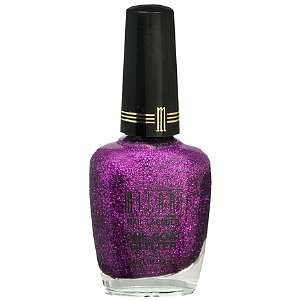 Milani One Coat Glitter Nail Lacquer, Purple Gleam 524 | drugstore.com