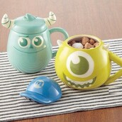 make-up,home decor,kitchen,home accessory,monsters inc,cute