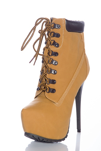 Queen of the crew high heel ankle booties