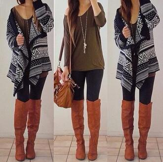 cardigan knitted cardigan t-shirt accessories shoes bag