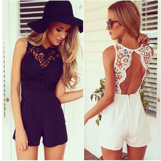Jumpsuit Sexy Backless Dress Sexy Backless Black Formal Dress