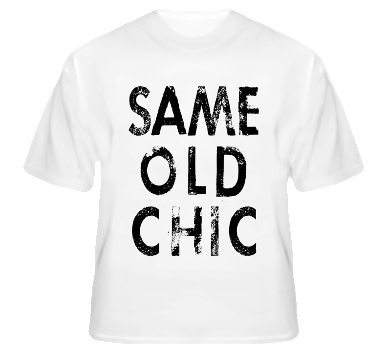 Lindsay Lohan Same Old Chic Celebrity T Shirt