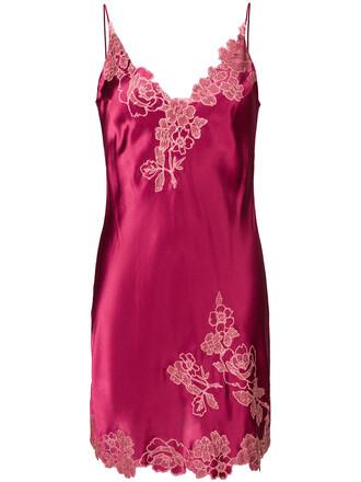 women lace silk purple pink underwear