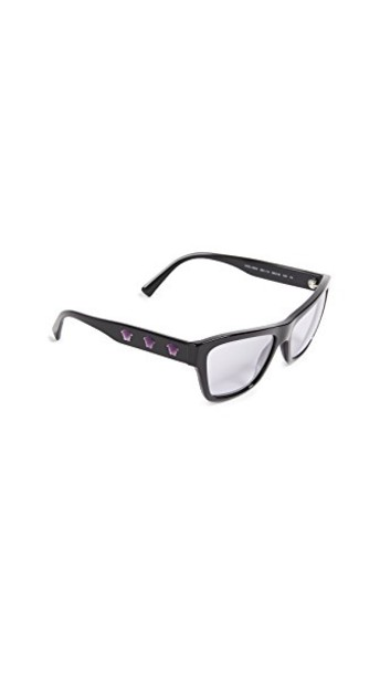 VERSACE rock sunglasses black lilac
