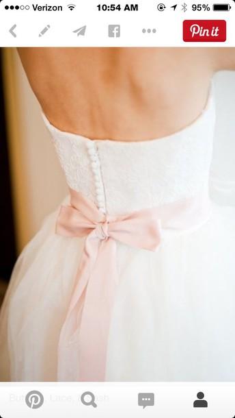 dress ️pink bow