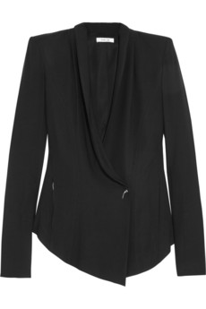 Woven blazer | Helmut Lang | 65% off | THE OUTNET
