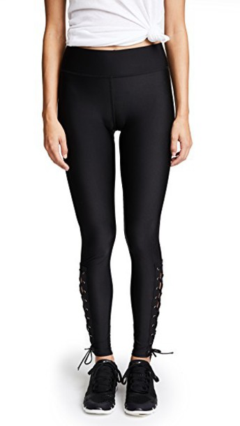 Terez leggings lace black pants