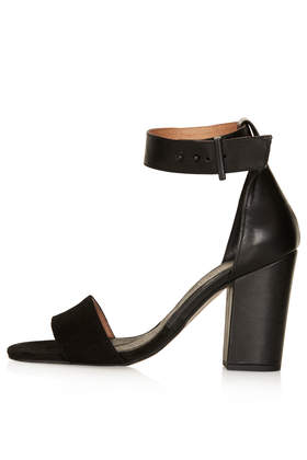 RAMBLE Leather Sandals - Heels - Shoes - Topshop