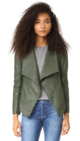 jacket green army green