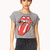 Only Rock and Roll Cropped Tee | FOREVER21 - 2000089963