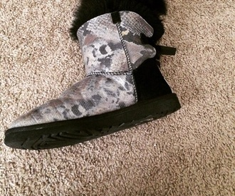 shoes snake print uggs boots