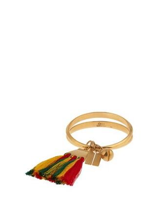 cuff tassel jewels