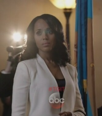 jacket scandal olivia pope white blazer kerry washington open front