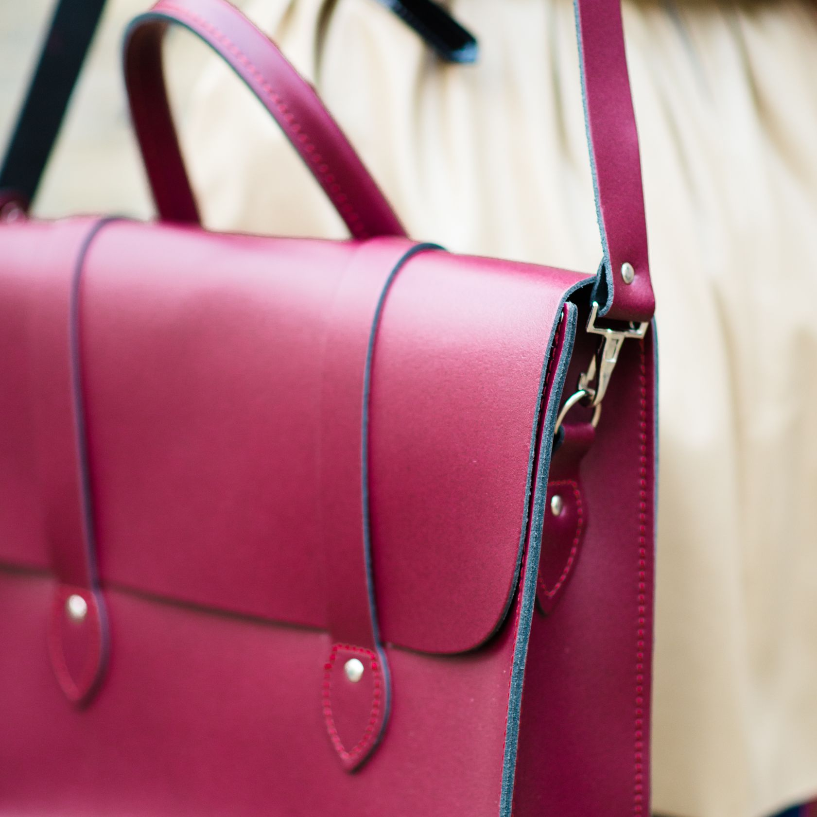 What Is Leather Made Of >> The Leather Satchel Co. | British Made since 1966
