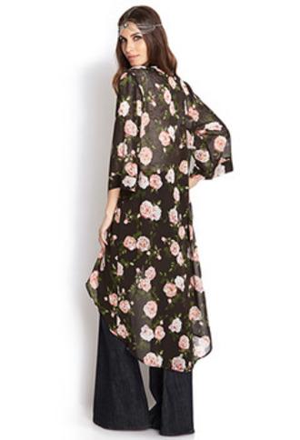 cardigan tyler joseph floral kimono