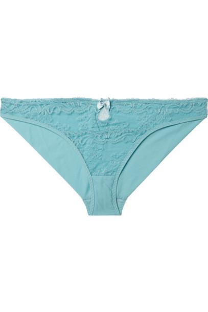 Stella McCartney lace blue underwear