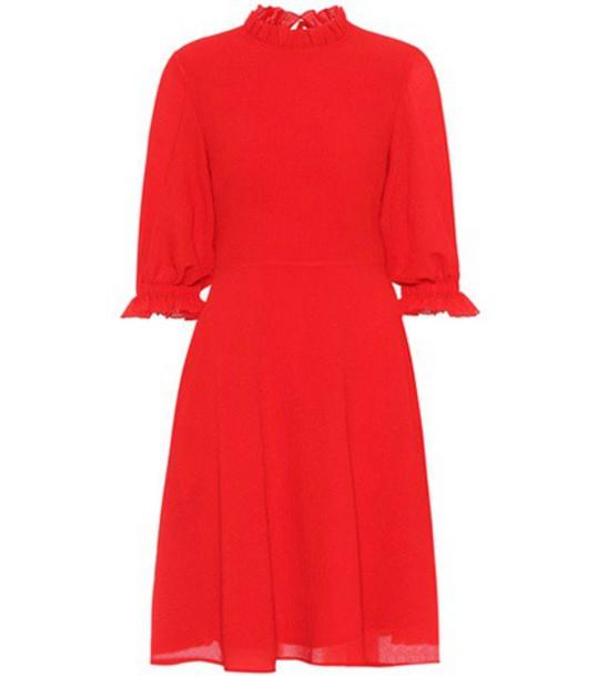Rejina Pyo Rachel crêpe dress in red