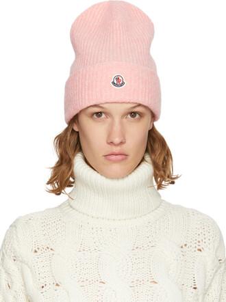 beanie pink hat