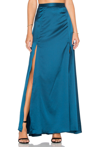 Rise of Dawn skirt teal