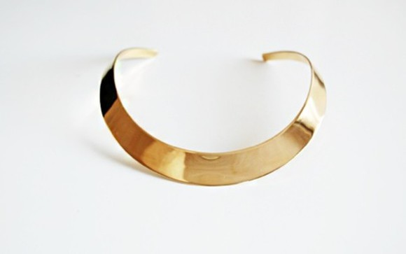 jewels necklace cuff gold