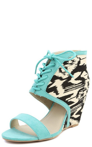 shoes black and white mint chevron mint green shoes aztec