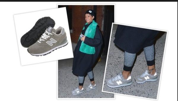 shoes new balance grey rihanna