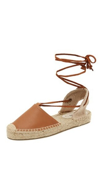 tan sandals shoes