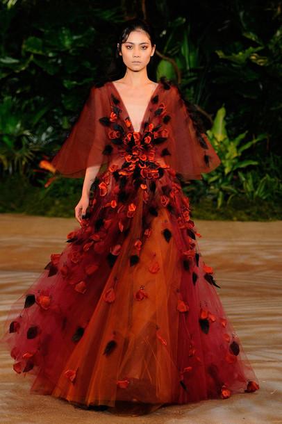 dress gown fashion week 2015