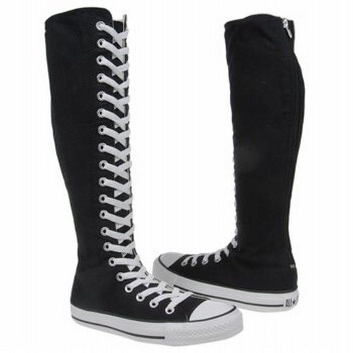CONVERSE Chuck Taylor All Star XX-HI Black Zipper BOOTS Shoes MANY SIZES