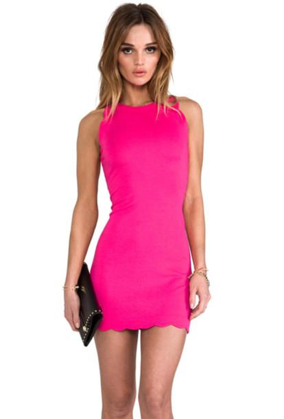 Tight Pink Dress 110