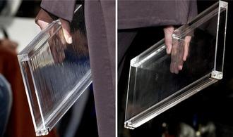 bag clutch purse fashion clear clutch