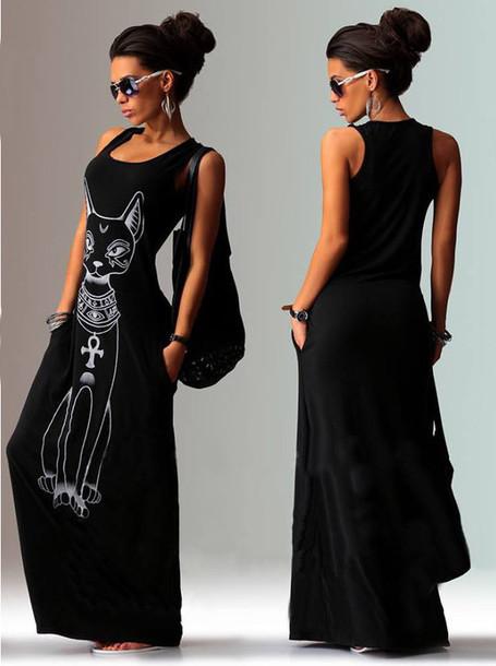 Egyptian maxi dresses