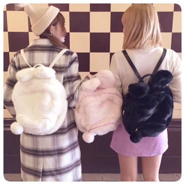 bag dejavu cat backpack bunny bunny ears cute