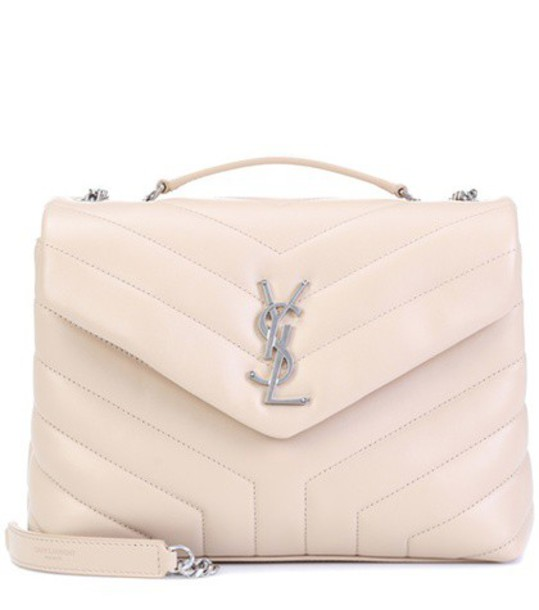 Saint Laurent bag shoulder bag leather beige
