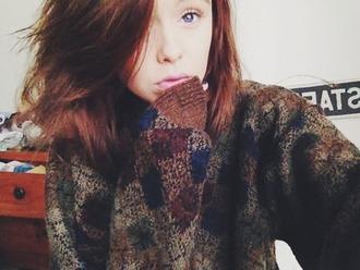 sweatshirt vintage vintage sweater acacia brinley comfy sweater sweater