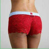 underwear,lace boxers,red lace,boxers