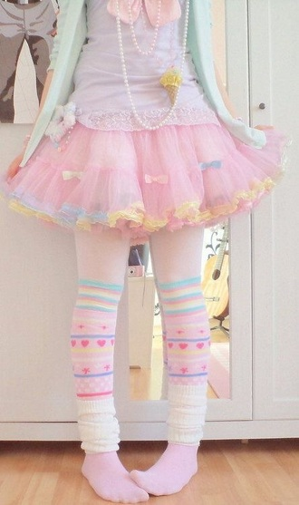 skirt harajuku kawaii pastel japanese fashion tulle skirt tutu pink