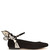 Chiara butterfly-wing suede ballet flats