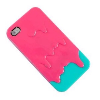 phone cover slime pink