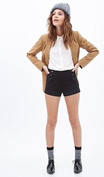 jacket blazer beanie