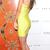 Cross Strappy Back Bandage Dress Yellow
