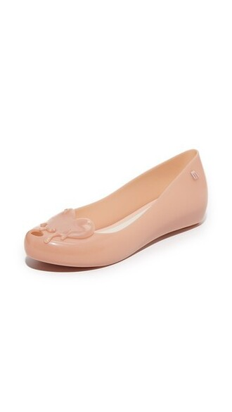 matte light pink light flats pink shoes