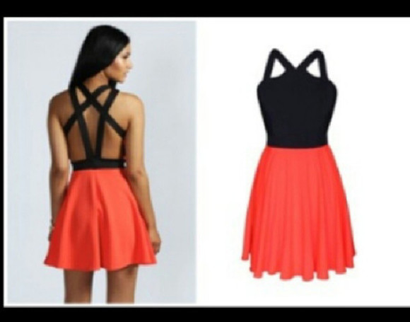 dress spring short dress coral summer spring 2013