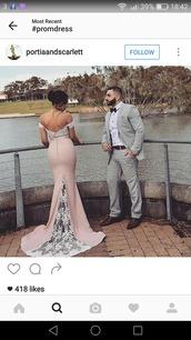 dress,pink,lace dress,off the shoulder dress,long dress,prom dress,prom,silk,mermaid prom dress