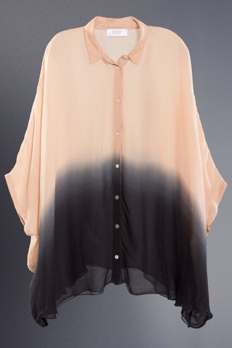 shirt ombre dip dye top brand how much it cost ombre shirt